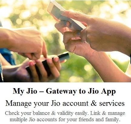 make jio account